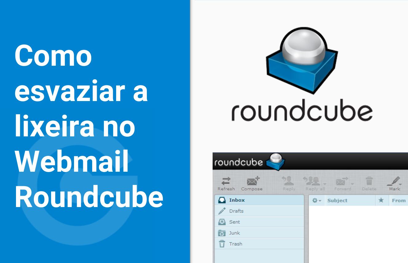 Esvaziando lixeira no Webmail Roundcube do Cpanel