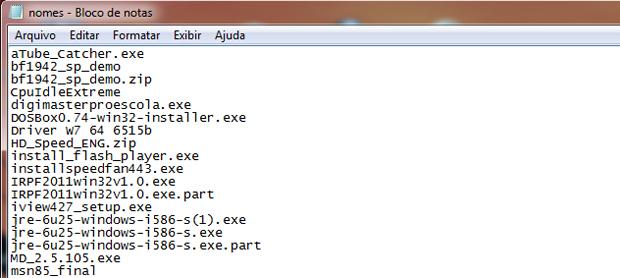 Aprenda a copiar o nome de todos os arquivos de uma pasta de uma só vez